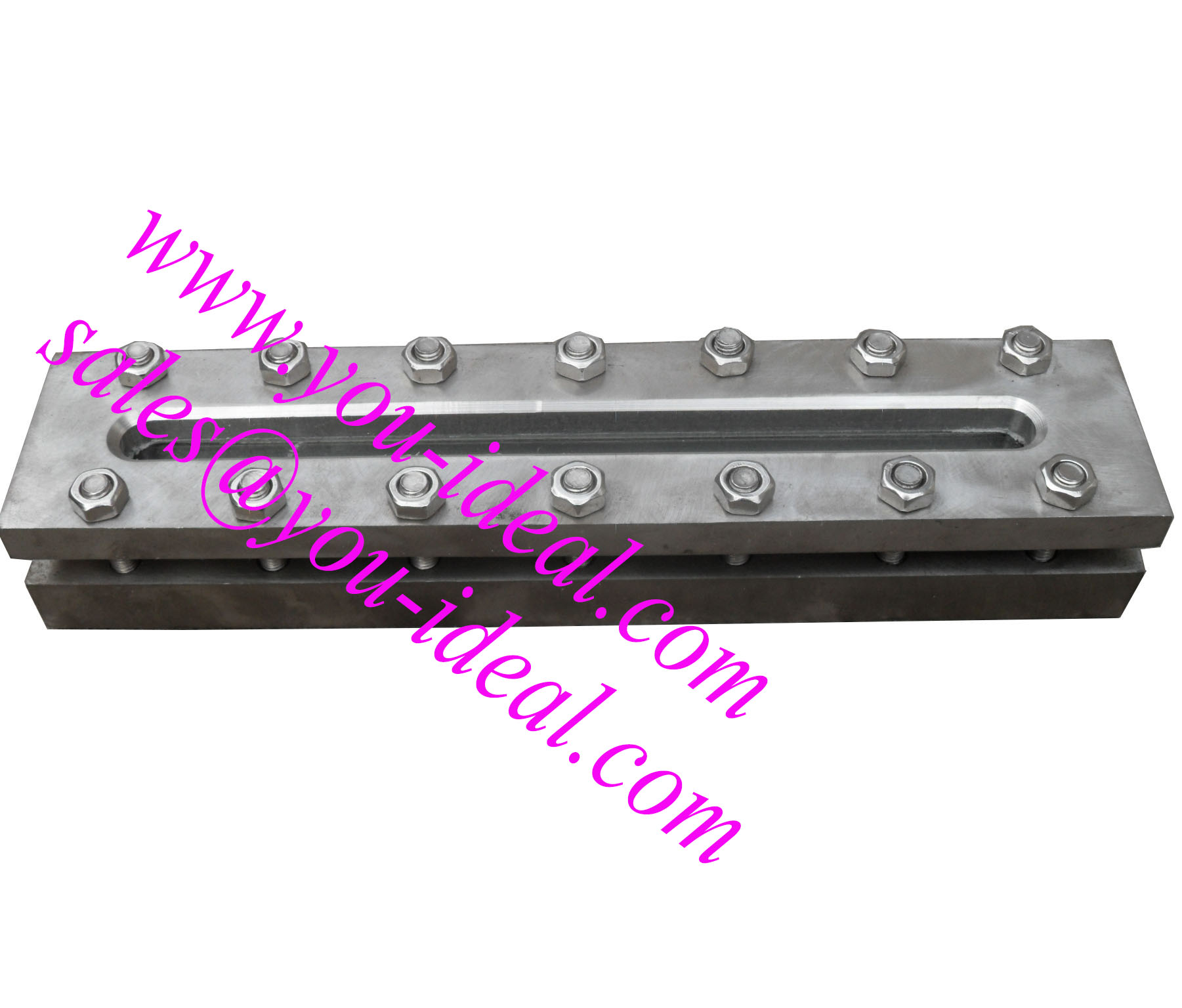 Welded sight glass level gauge