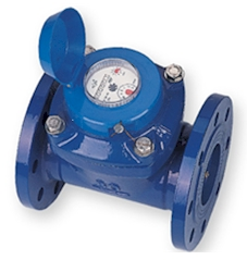spiral dry removable water meter